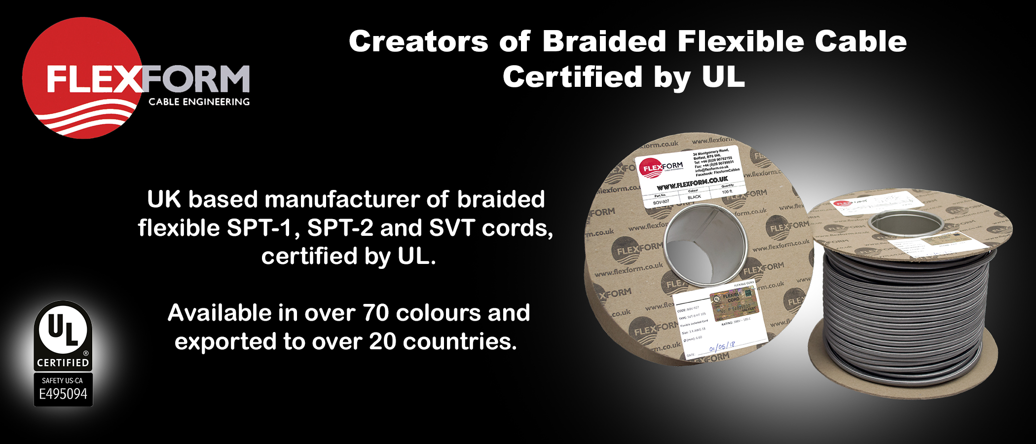 Flexform UL offering